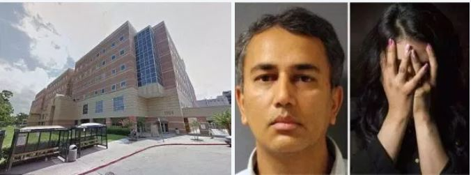 Houston doctor is convicted, five years after he's accused of raping a patient as she lay heavily sedated in a hospital bed  -Victim was unable to call for help after Dr Shafeeq Sheikh deliberately unplugged the alarm